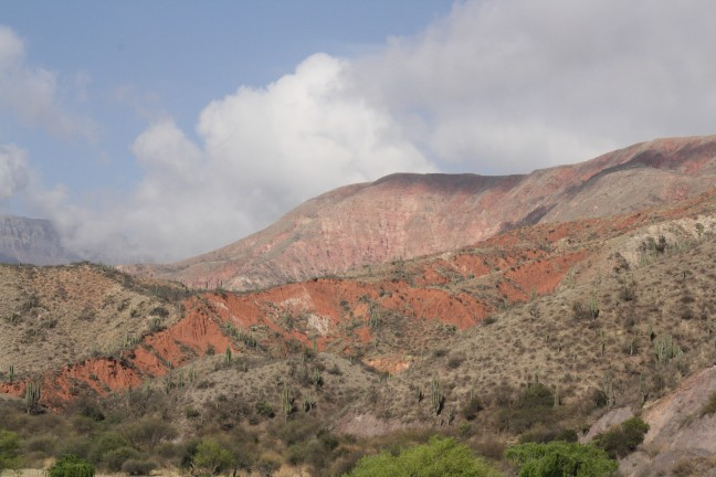 Gekleurde bergen