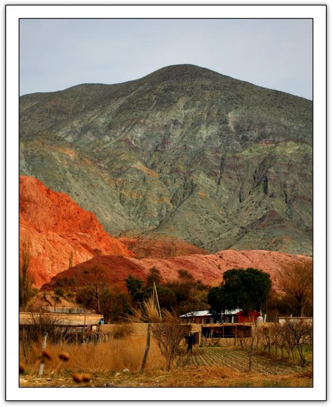 iedere berg een andere kleur