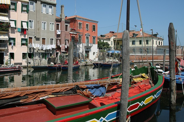 Chioggia, klein Venetië
