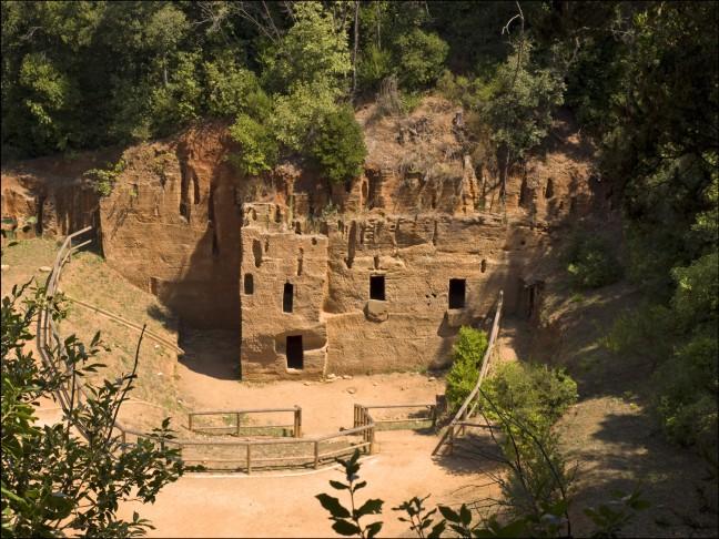 Etruskische Opgraving