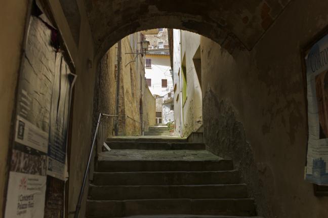 Straatjes in Montepulciano