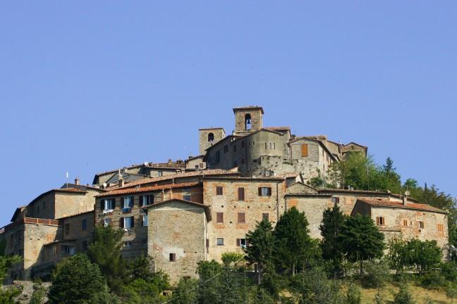 italiaans bergdorpje
