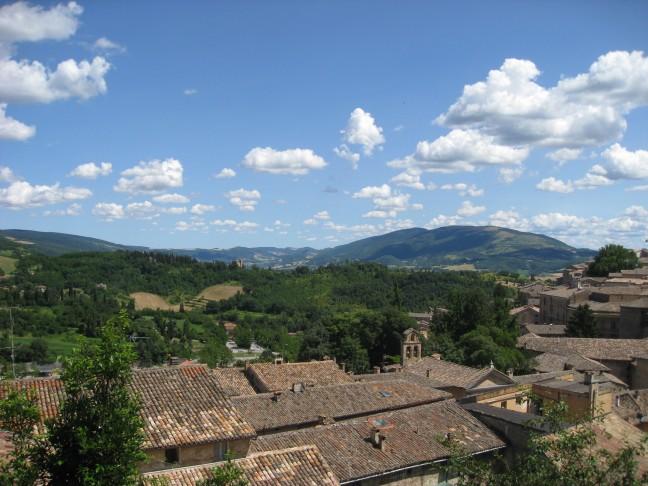 Daken van Urbino en achterland Le Marche
