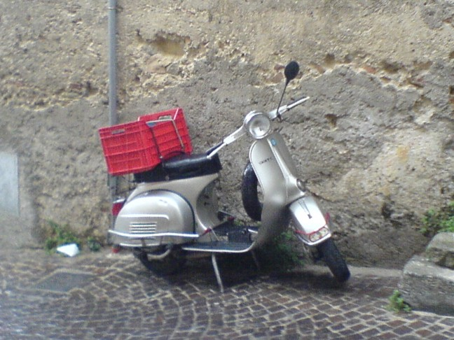 Vespa in Calabrie