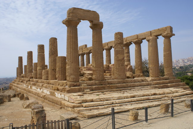 Tempel op Sicilie