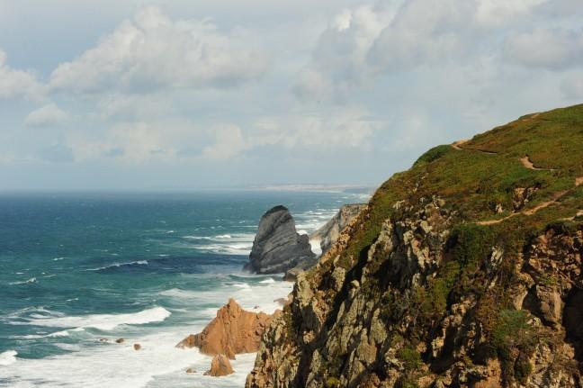 Op het randje Cabo di Roca