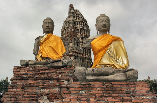 Ayutthaya, Wat Chai Watthanaram.(1052ups)