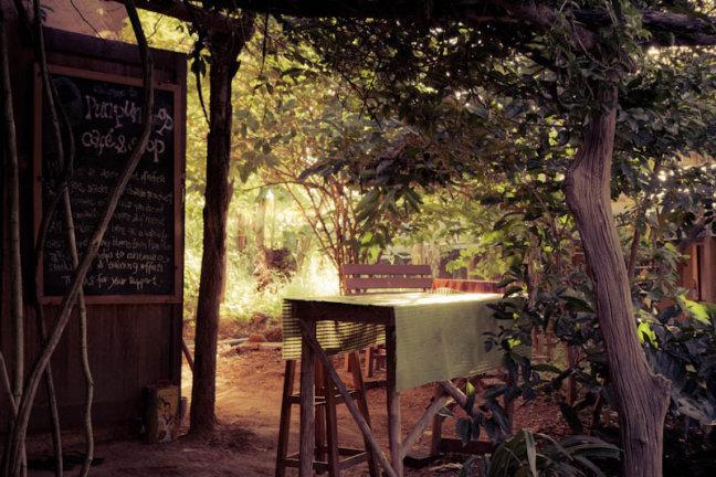 coffeeshop op farm