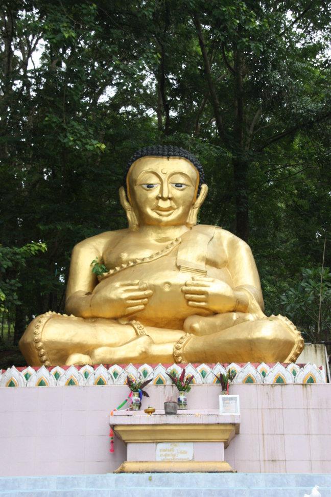 2008: Mae Sai: boeddha.