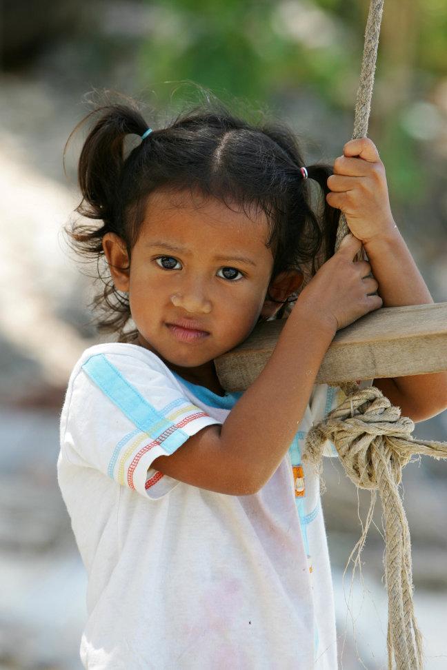 Thais meisje op Ko Samui