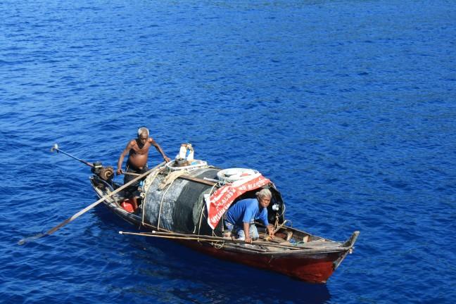 Zee zigeuners Similan eilanden