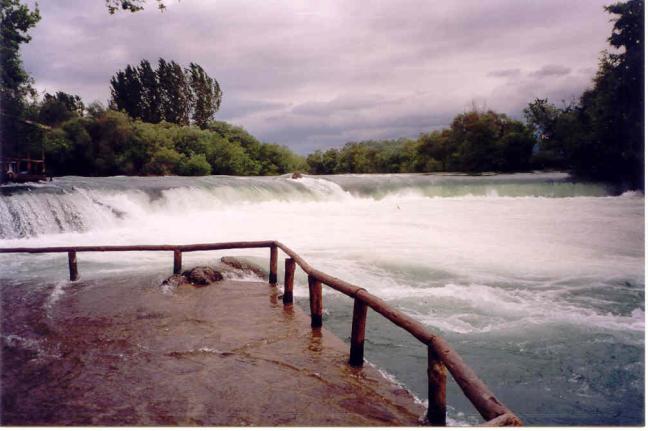 Manavgat watervallen.