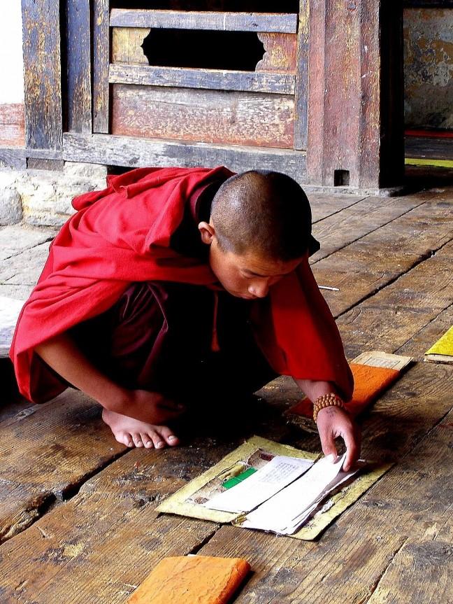 Monnik Oost Bhutan