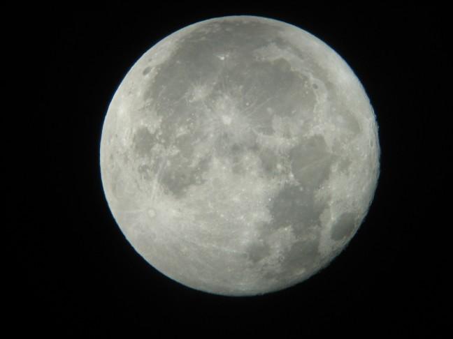 De maan!
