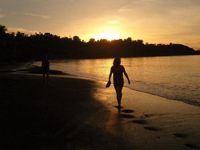 walking in Corcovado