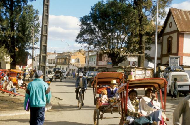 Pousse-pousse - Antsirabe