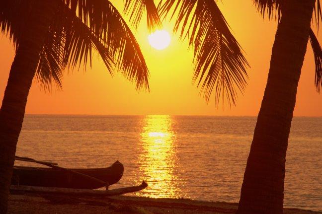zonsondergang Ivaty