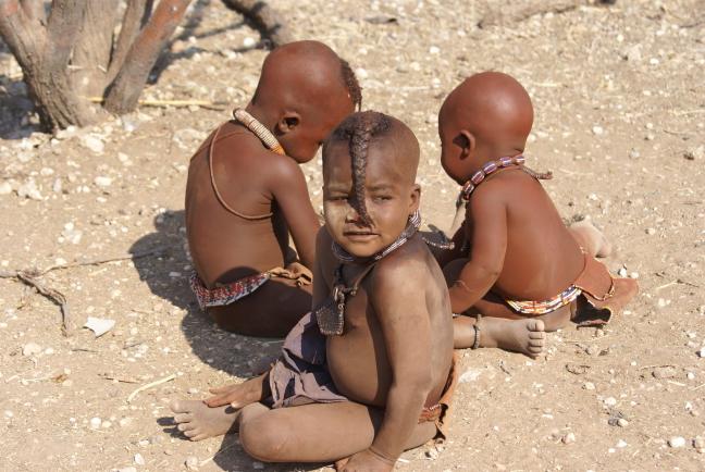Himba kindjes