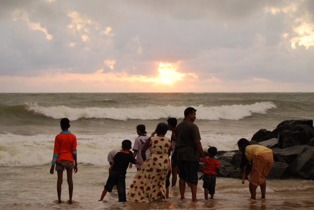 Sri Lankaanse familie