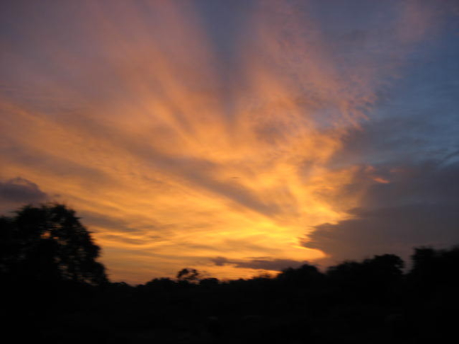 Sunset in Yala Park