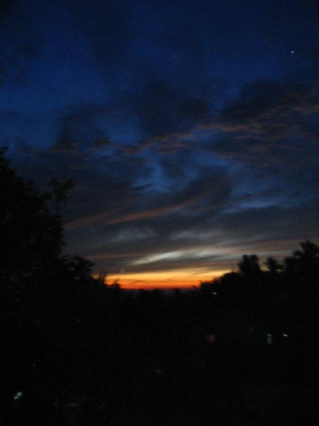 Sunset in Ambalangoda