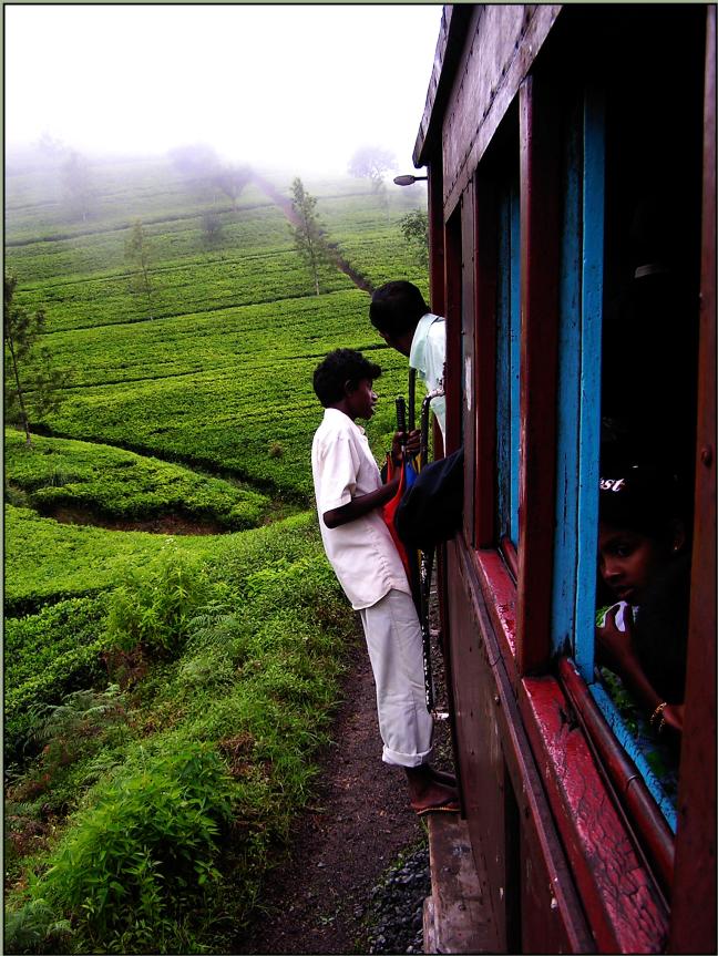 Trage trein