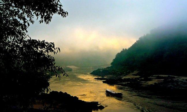 mist op de mekong