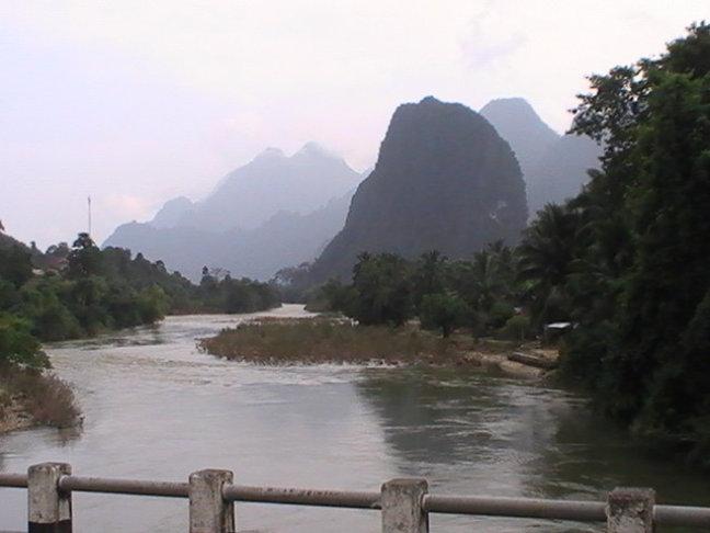 Onderweg ergens in Laos