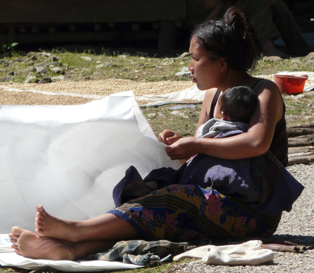 Hmong moeder
