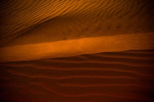 Woestijn scene