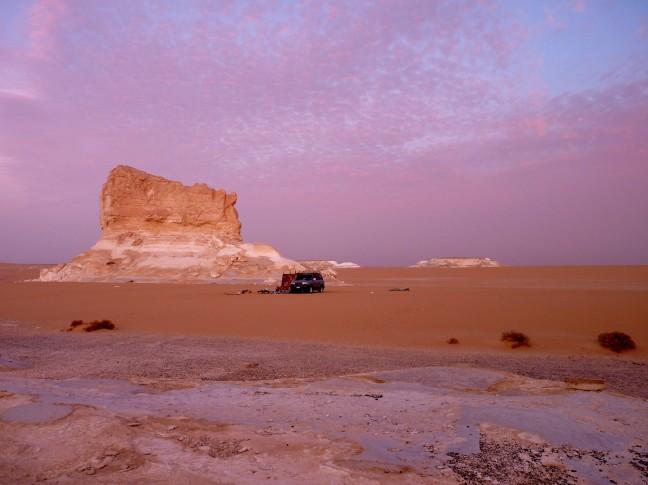 Witte Woestijn, Egypte