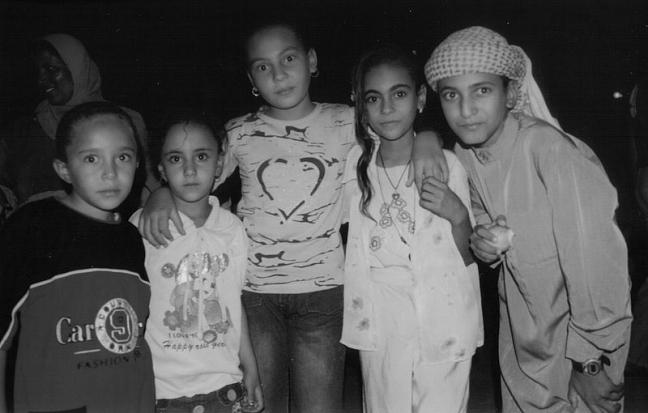 Egyptische kinderen