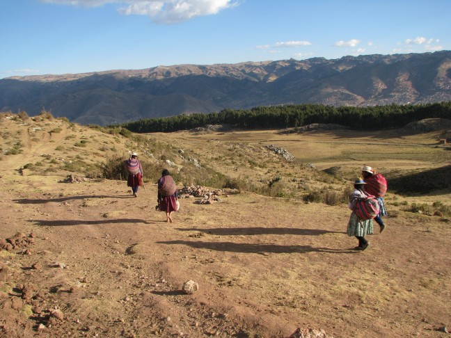 Vrouwen in de bergen