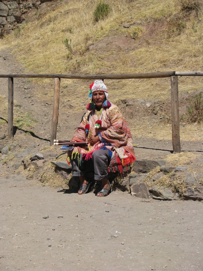 Panfluiter in de Sacred Valley