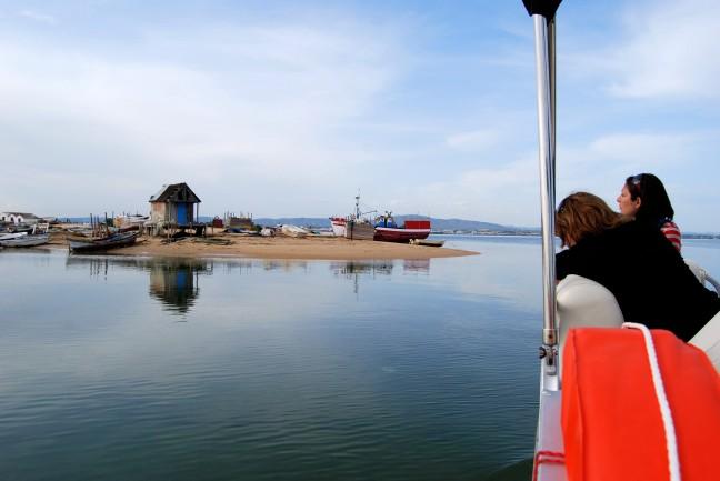 Culatra eiland in Ria Formosa Nat.Park