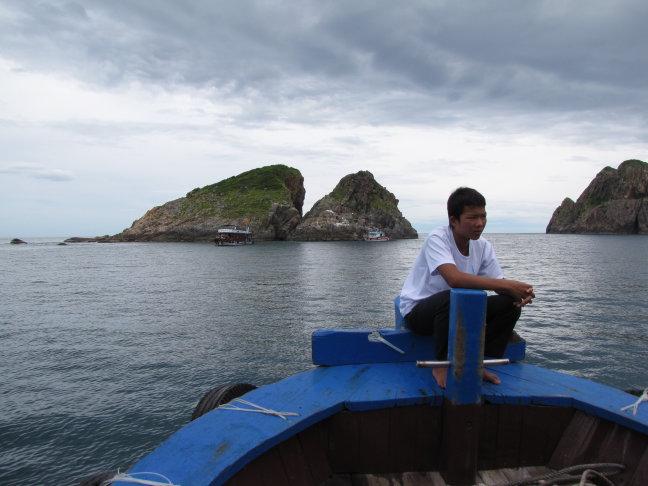 Bootsjongen Nha Trang