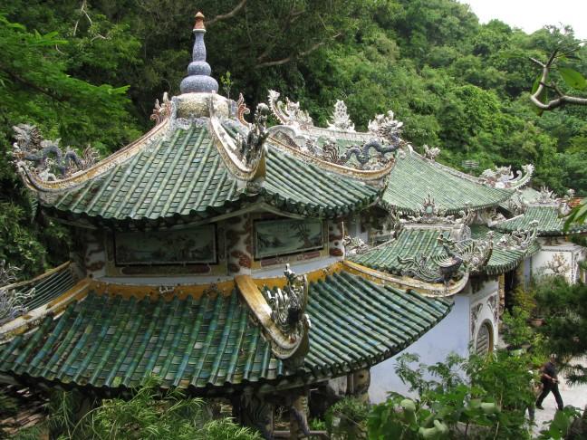 tempel op Water-berg