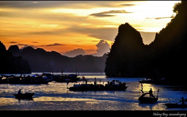 Gouden Halong Bay