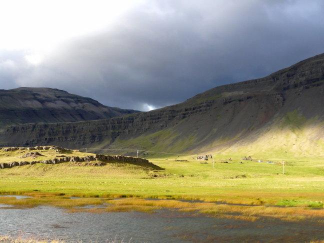 schitterend landschap