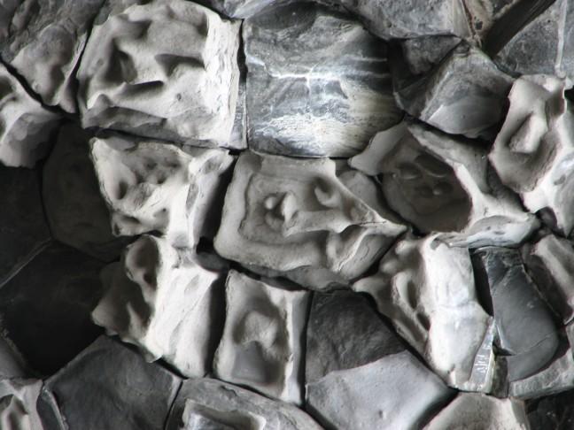 echo rotsen van dichtbij