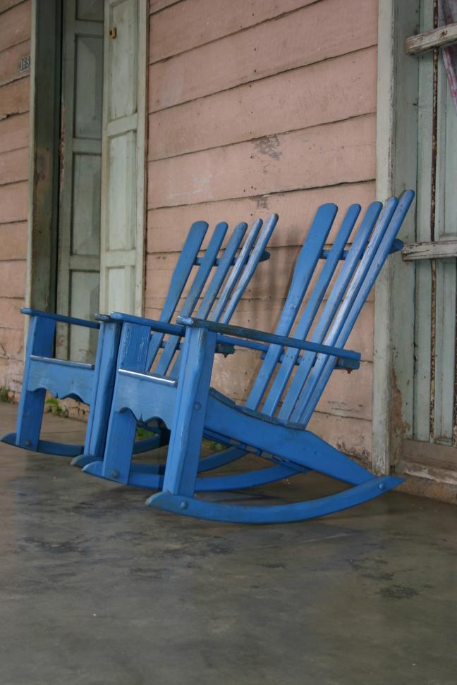 Schommel stoelen