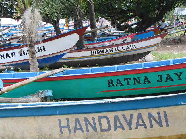 Pangandaran, midden Java