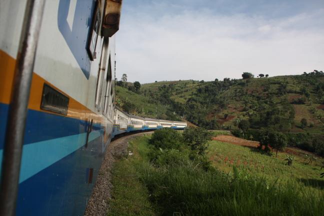 Treinreis door het binnenland van Java
