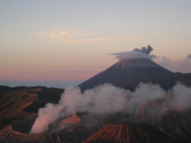 Semeru vulkaan en de Bromo