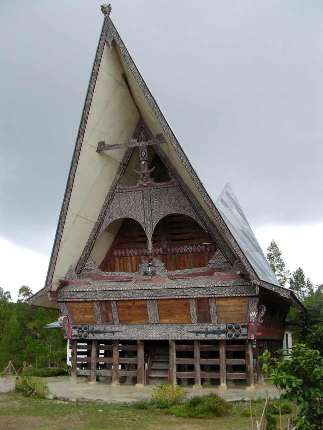 Dajak huis, Samosir