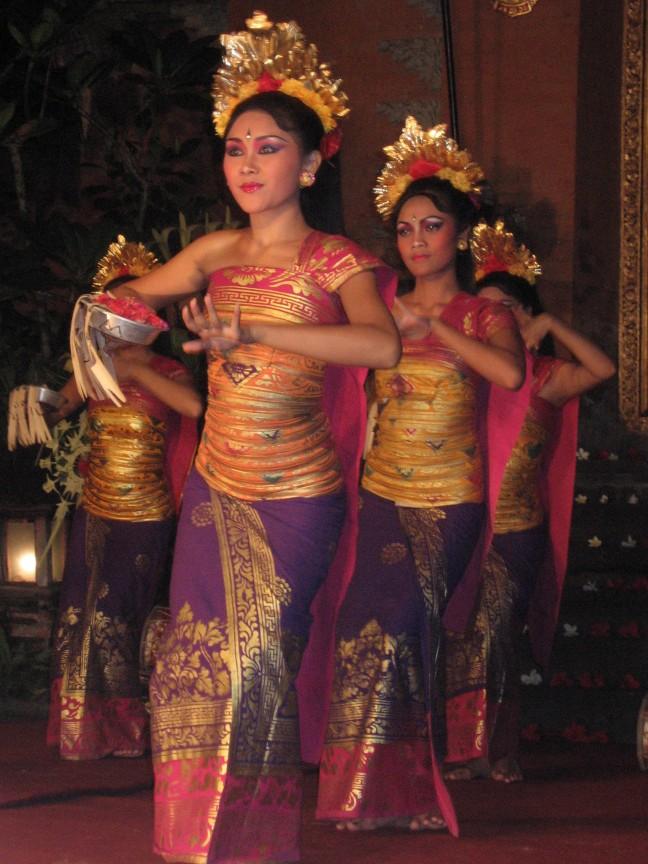 Danseressen in Ubud