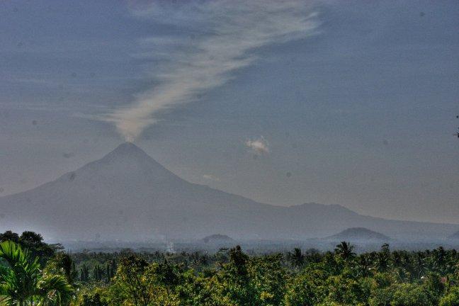 de vulkaan Merapi