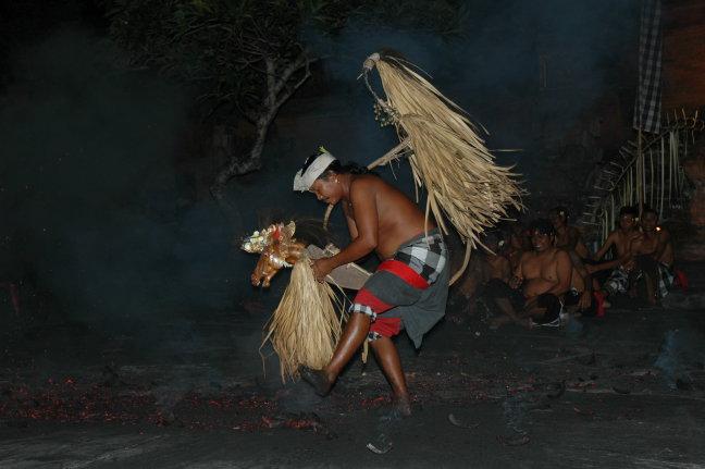 Kechak and fire Dance