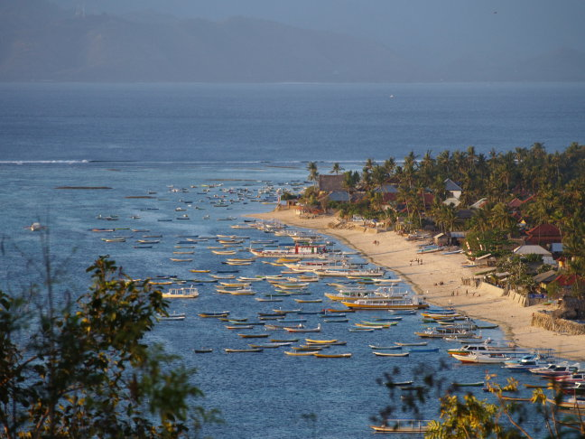 Baai van Lembongan Island