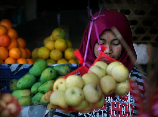 Fruitmarkt in Bedugul...